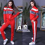 Жіночий спортивний костюм: кельні і штани зі вставками люрексу (5 кольорів), фото 4