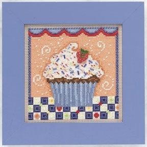Набор для вышивки Mill Hill Chocolate Cupcake