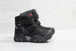 Зимние ботинки Clibee,на меху,черные 31р