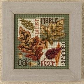 Набор для вышивки MILL HILL Fall Leaves (2009)