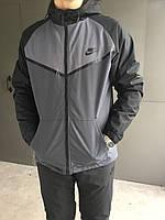 Мужской зимний спортивный костюм Nike (Плащевка)