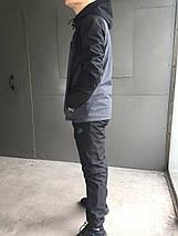 Мужской зимний спортивный костюм Nike (Плащевка), фото 2