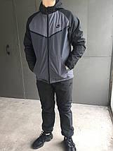 Мужской зимний спортивный костюм Nike (Плащевка), фото 3