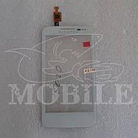 Сенсор ALCATEL 5020/5020D M`Pop white