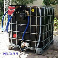 Оборудование для АЗС, узлы учета топлива на базе ЕВРОКУБА