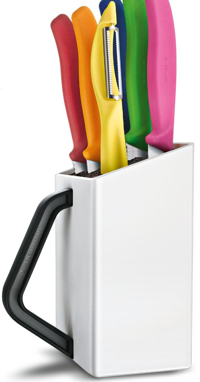 Набор кухонных ножей Victorinox SwissClassic Utility Block 6.7127.6L14