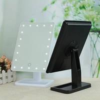 Зеркало для макияжа с подсветкой Magic Makeup Mirror 22 лампы, косметическое LED зеркало мейкап миррор Акция!