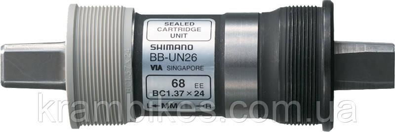 Каретка Shimano - BB-UN26 68x117.5mm пром