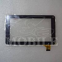 "Сенсор №047 (ver1) 7"" Assistant AP-714/GoClever R70/Globex GU701C (Mf-309-070f-2) (186*111) black .t"