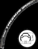 Обод 27.5-32-AV Weinmann - Taurus 2000 Чёрный Пистонированный 584x19