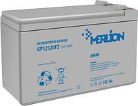 Аккумулятор MERLION AGM GP12120F2 12 V 12 Ah ( 150 x 98 x  95 (100) ) 3,0кг Q4