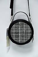 Круглый клатч David Jones CM4082T black