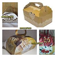 Коробочки для свадебного каравая