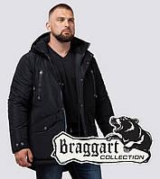 Braggart Dress Code 38830 | Зимняя мужская парка черная, фото 1