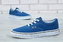Кеды унисекс синие Vans Era (реплика), фото 2