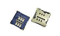 SIM-коннектор LG D802 G2/D803/D805/E960/LS980/HTC S720e One X G23/S728e One X+/601n One mini
