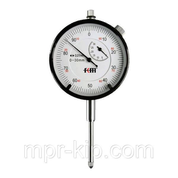 Індикатор годинникового типу KM-112-60-30 (0-30/0.01 мм) без вушок
