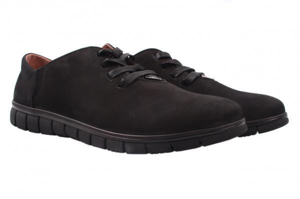 Туфли Prime нубук, цвет черный