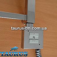 Квадратный ТЭН KTX1 chrome с управлением 2 режима нагрева. Съёмный регулятор. Мощность от 120W до 1000W