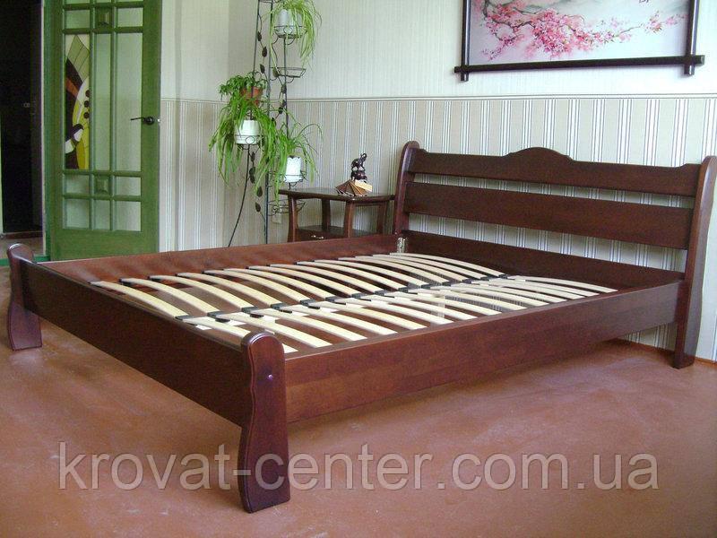 """Спальня из натурального дерева """"Грета Вульф"""" (кровать с тумбочками)"""