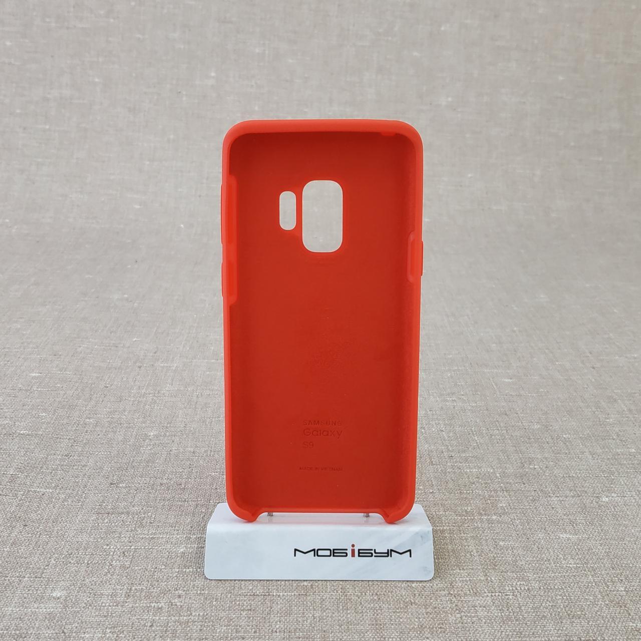 Чехол Original Soft Samsung Galaxy S9 G960 red