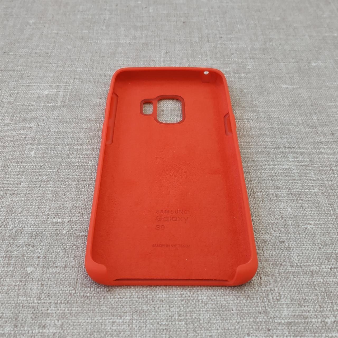 Чехлы для Samsung Galaxy S9 Original Soft G960 red