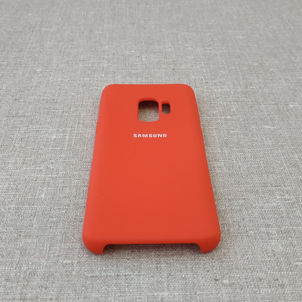 Чехол Original Soft Samsung Galaxy S9 G960 red Для телефона