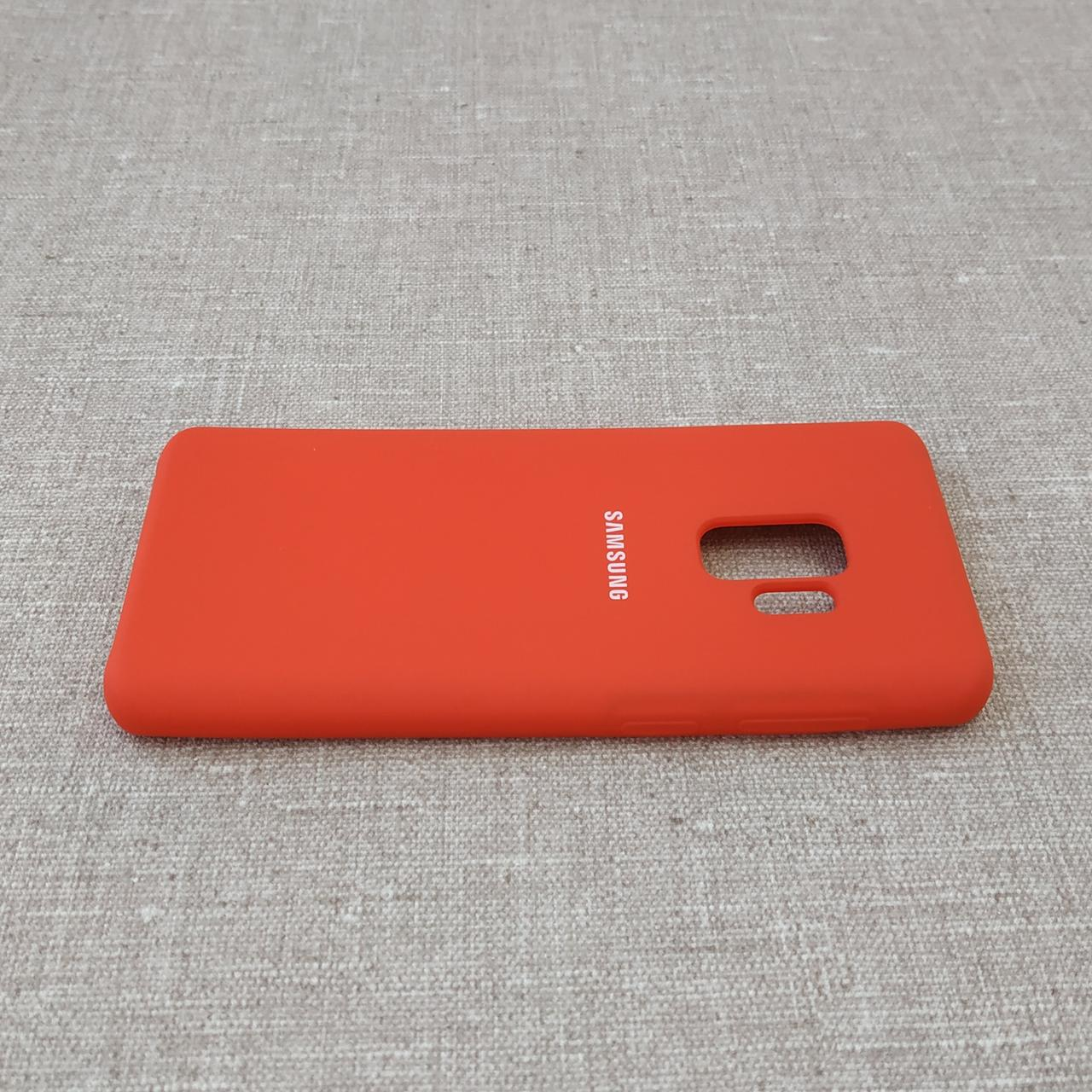 Чехлы для Samsung Galaxy S9 Original Soft G960 red Для телефона