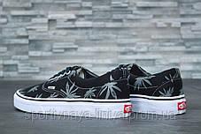 Кеды унисекс черные Vans Vault Era LX OG 'Palm Leaf' (реплика), фото 3