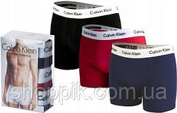 Мужские трусы Calvin Klein боксеры хлопок, 3 шт. в уп. Супер качество. Реплика, фото 3