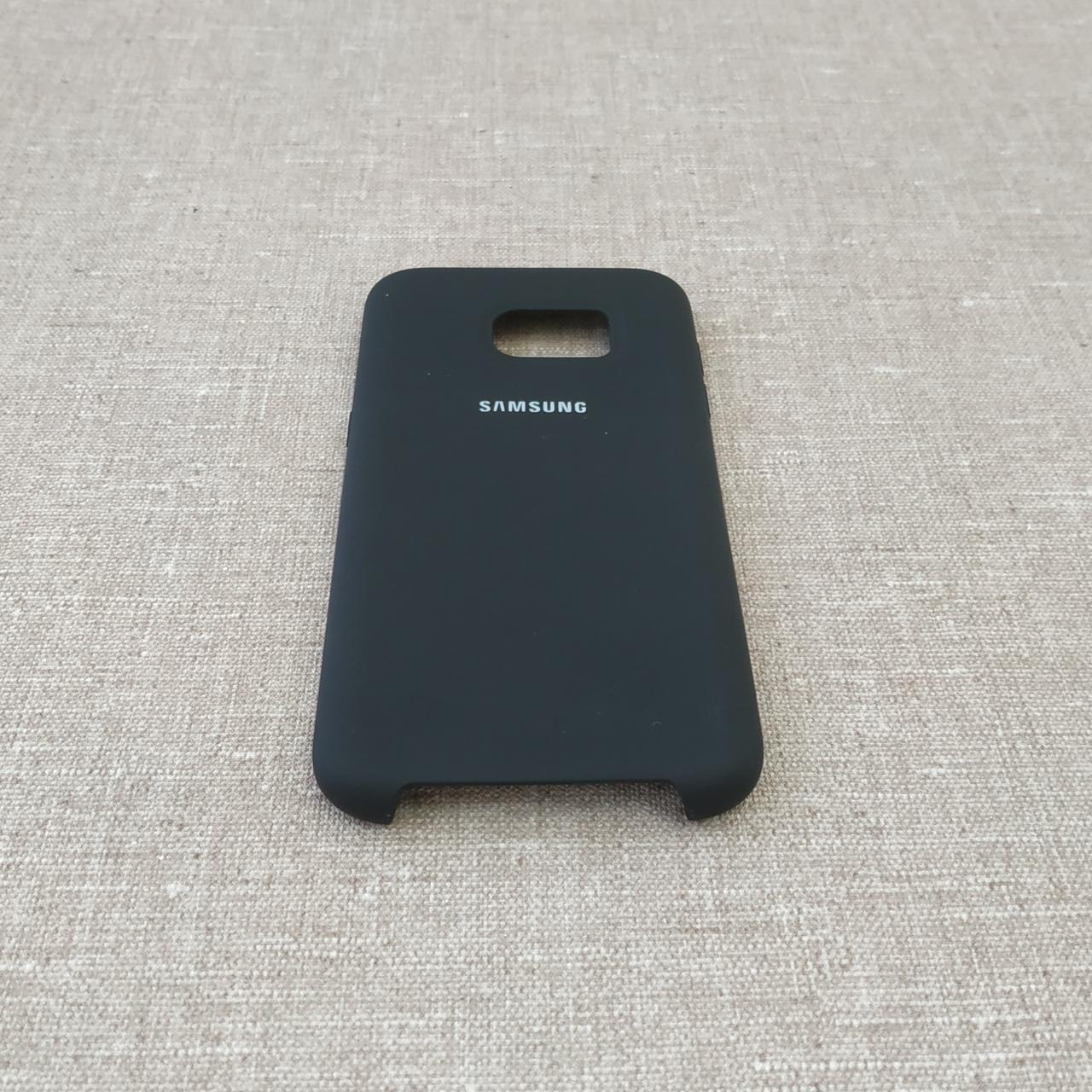 Original Soft Samsung Galaxy S7 Edge G935 black Для телефона
