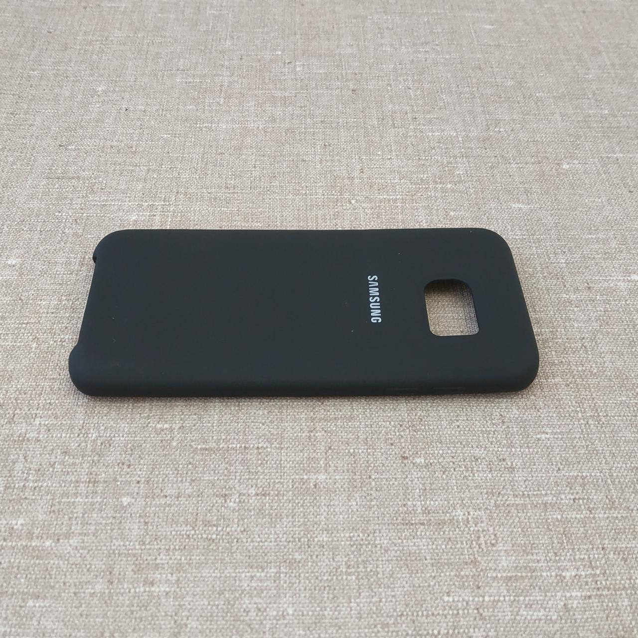 Чехол Original Soft Samsung Galaxy S7 Edge G935 black