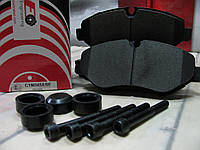 Тормозные колодки передние VW Crafter 2E0698151