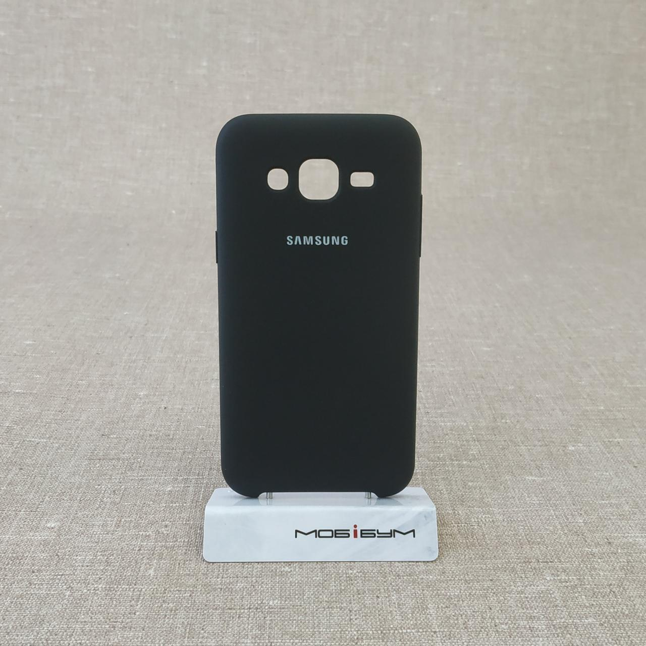 Чехол Original Soft Samsung Galaxy J500 black