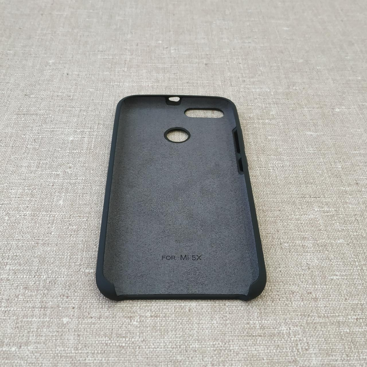 Original Soft Xiaomi Mi5x A1 black Mi 5X Для телефона