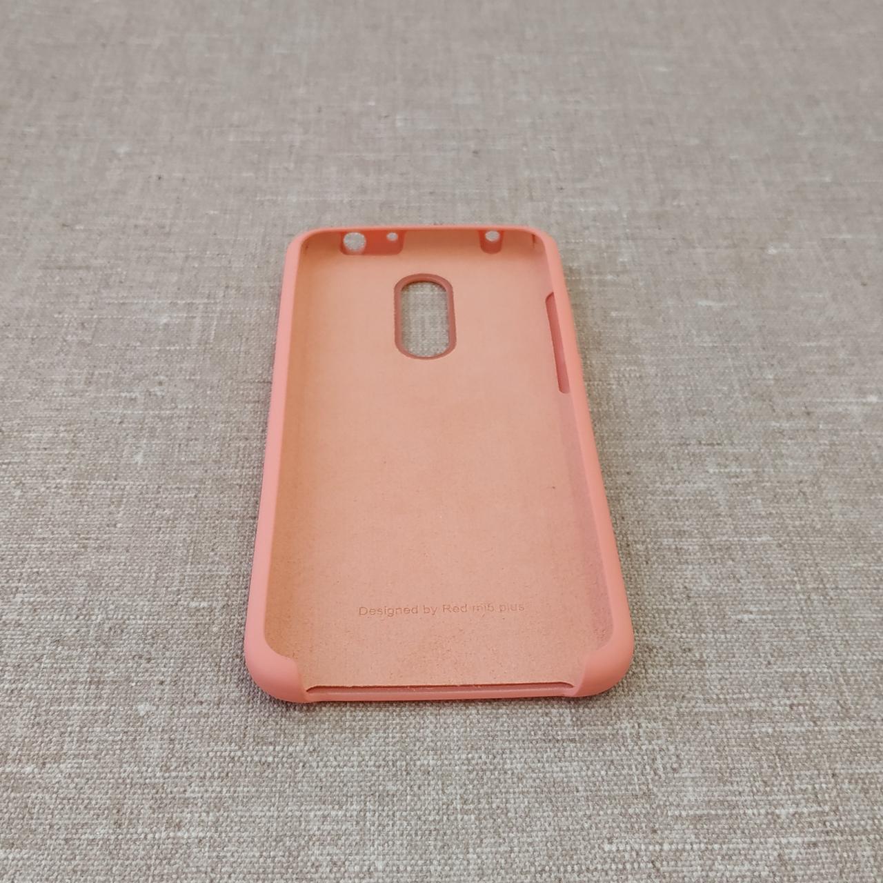Чехол Original Soft Xiaomi Redmi 5 Plus pink Note (SC) Для телефона