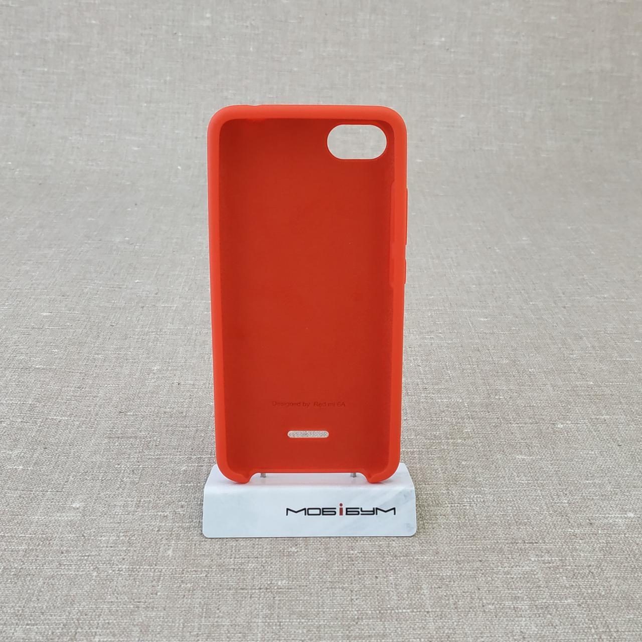 Чехол Original Soft Xiaomi Redmi 6a red 6A Для телефона
