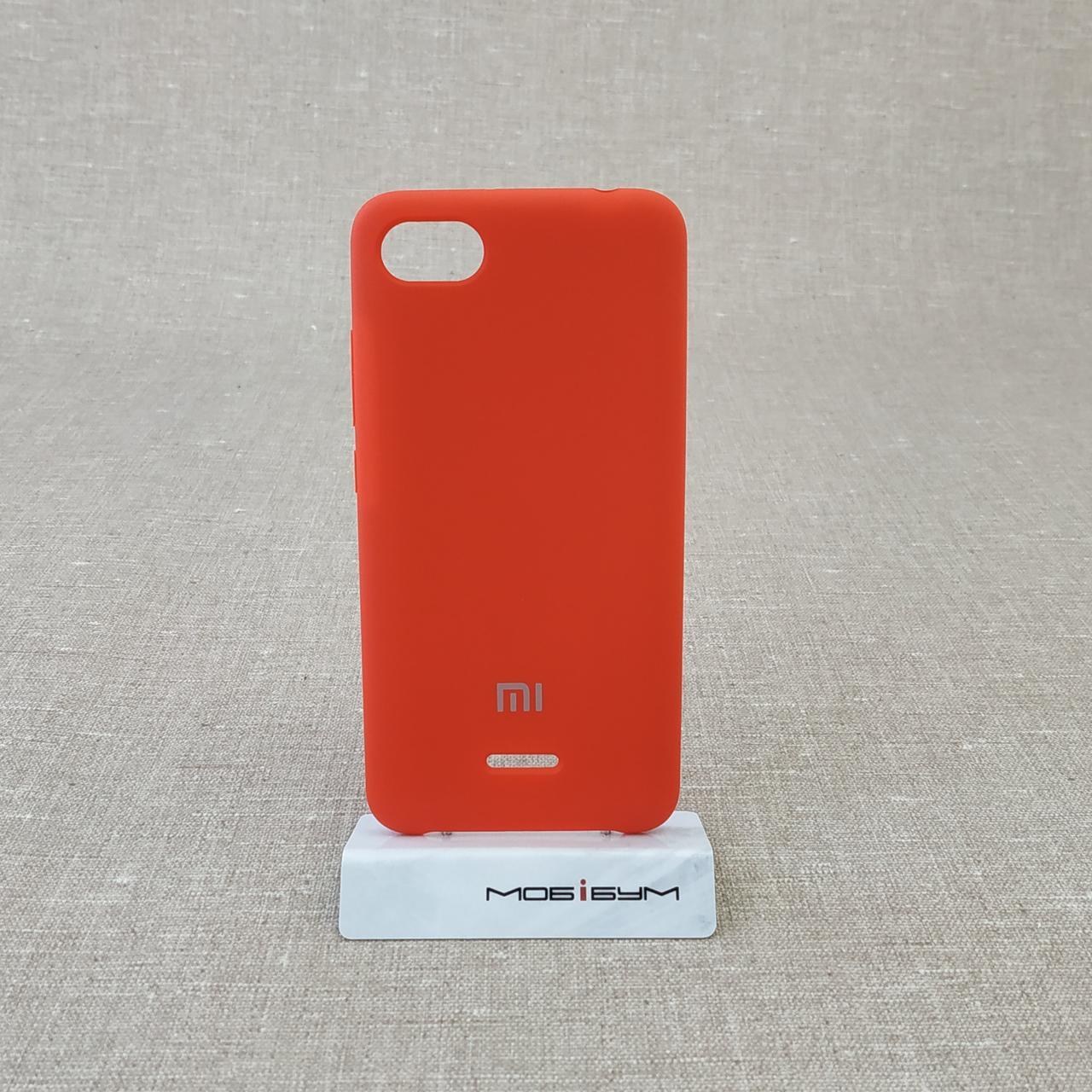 Чехол Original Soft Xiaomi Redmi 6a red