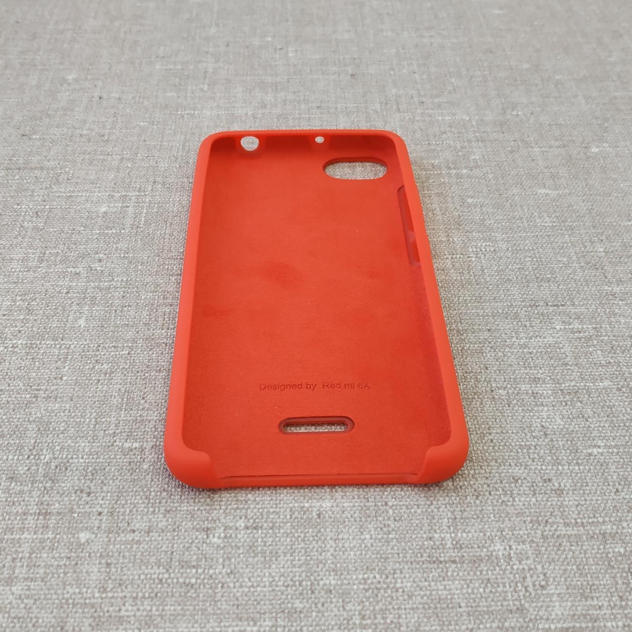 Чехлы для Xiaomi Redmi 6A Original Soft 6a red Для телефона