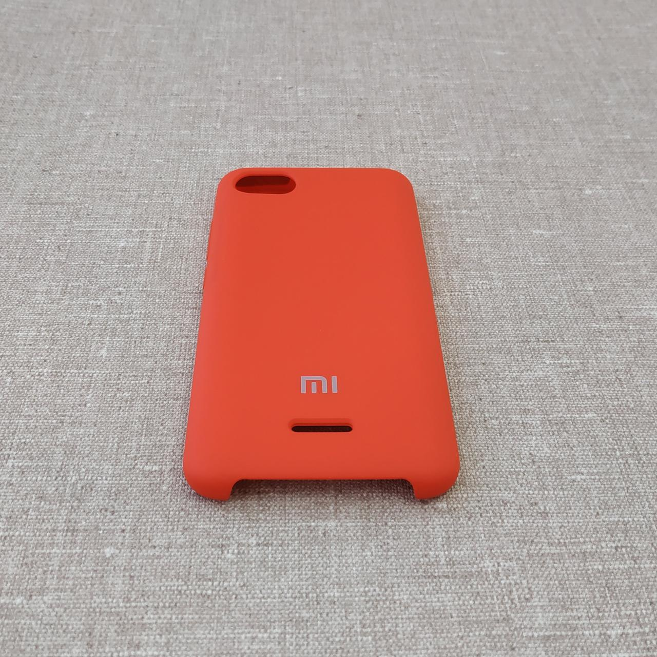Чехлы для Xiaomi Redmi 6A Original Soft 6a red