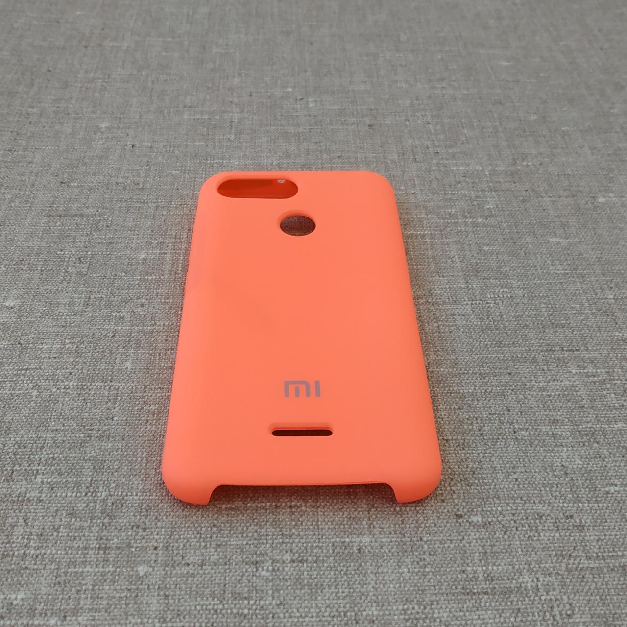 Чехол Original Soft Xiaomi Redmi 6 pink Для телефона
