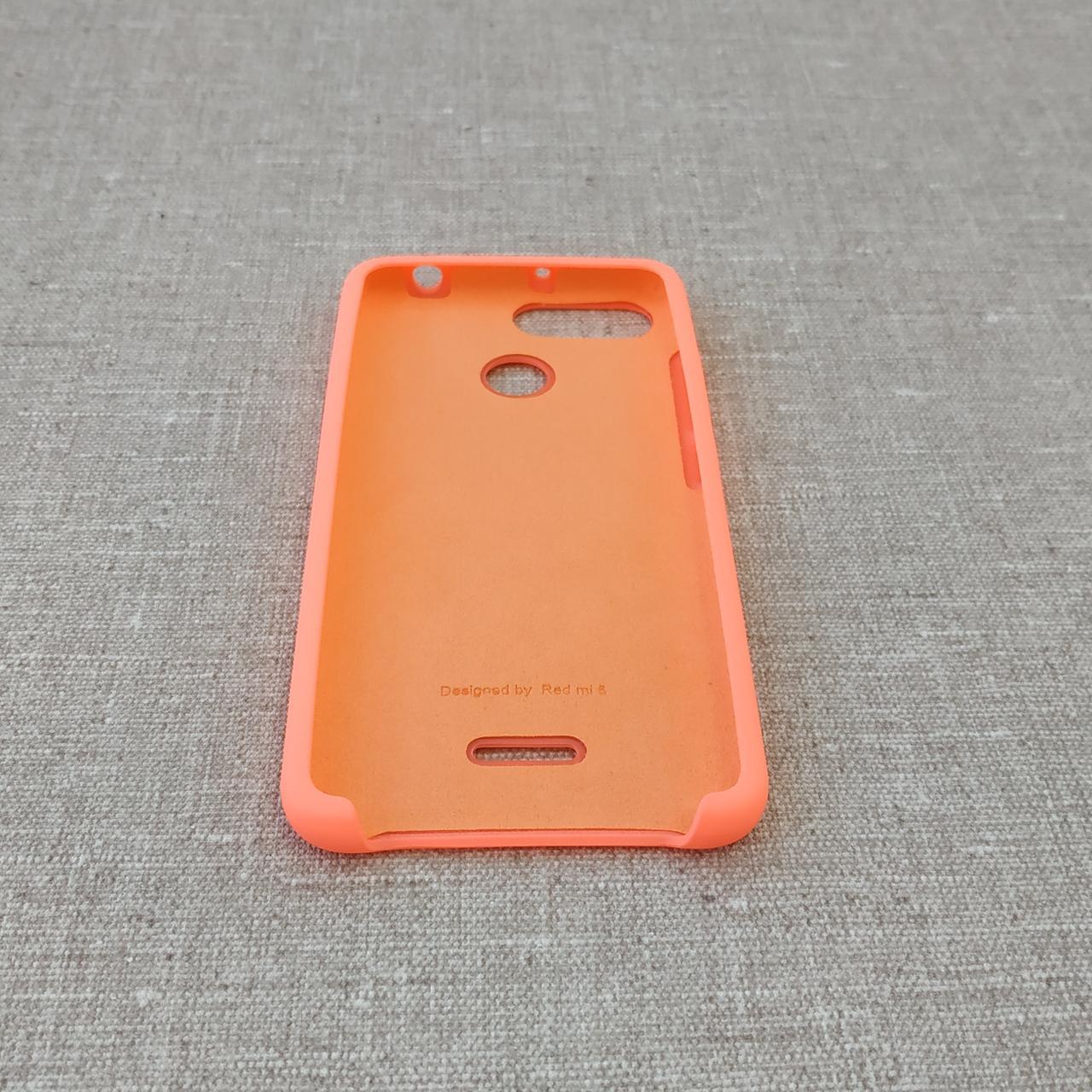 Чехлы для Xiaomi Redmi 6 Original Soft pink