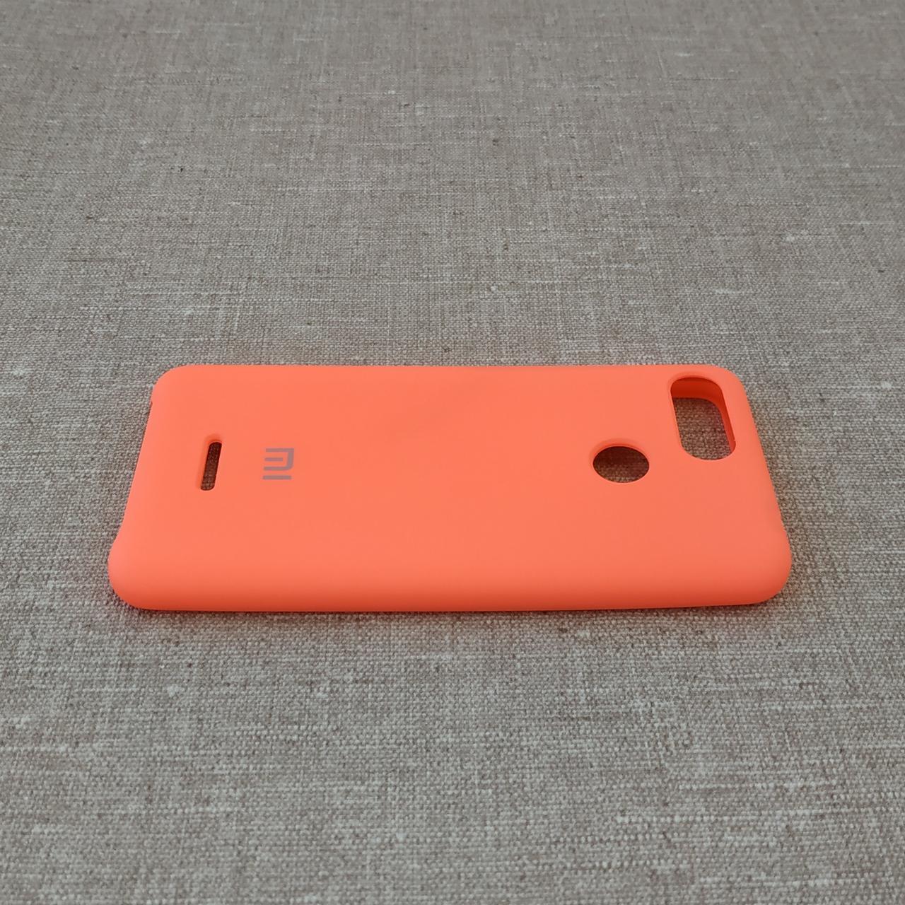 Чехлы для Xiaomi Redmi 6 Original Soft pink Для телефона