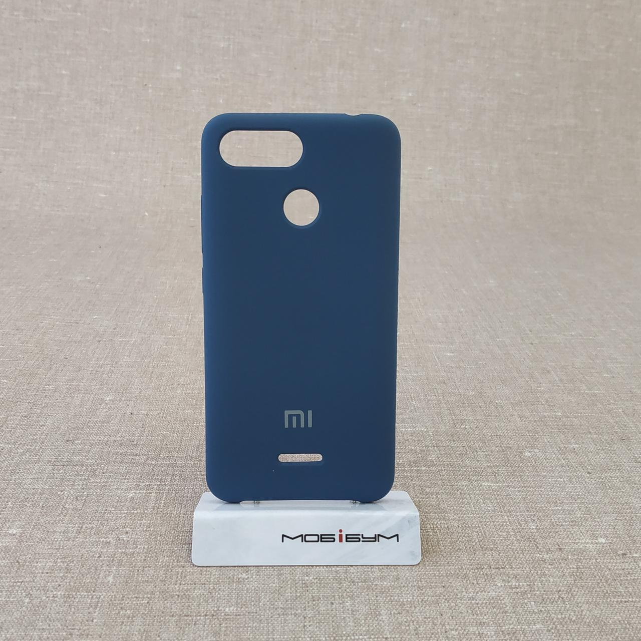 Чехол Original Soft Xiaomi Redmi 6 dark blue