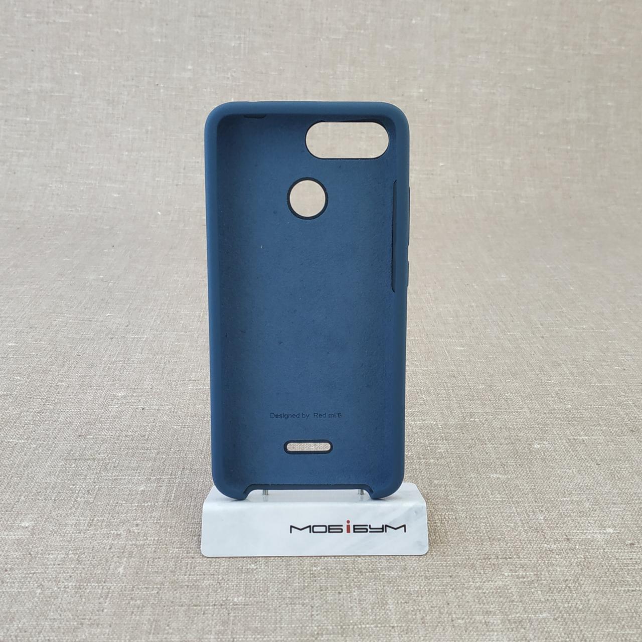 Original Soft Xiaomi Redmi 6 dark blue Для телефона