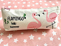 Косметичка Pink Flamingo пенал