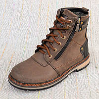 Зимние ботинки Zangak brown размер 35 36 37 38