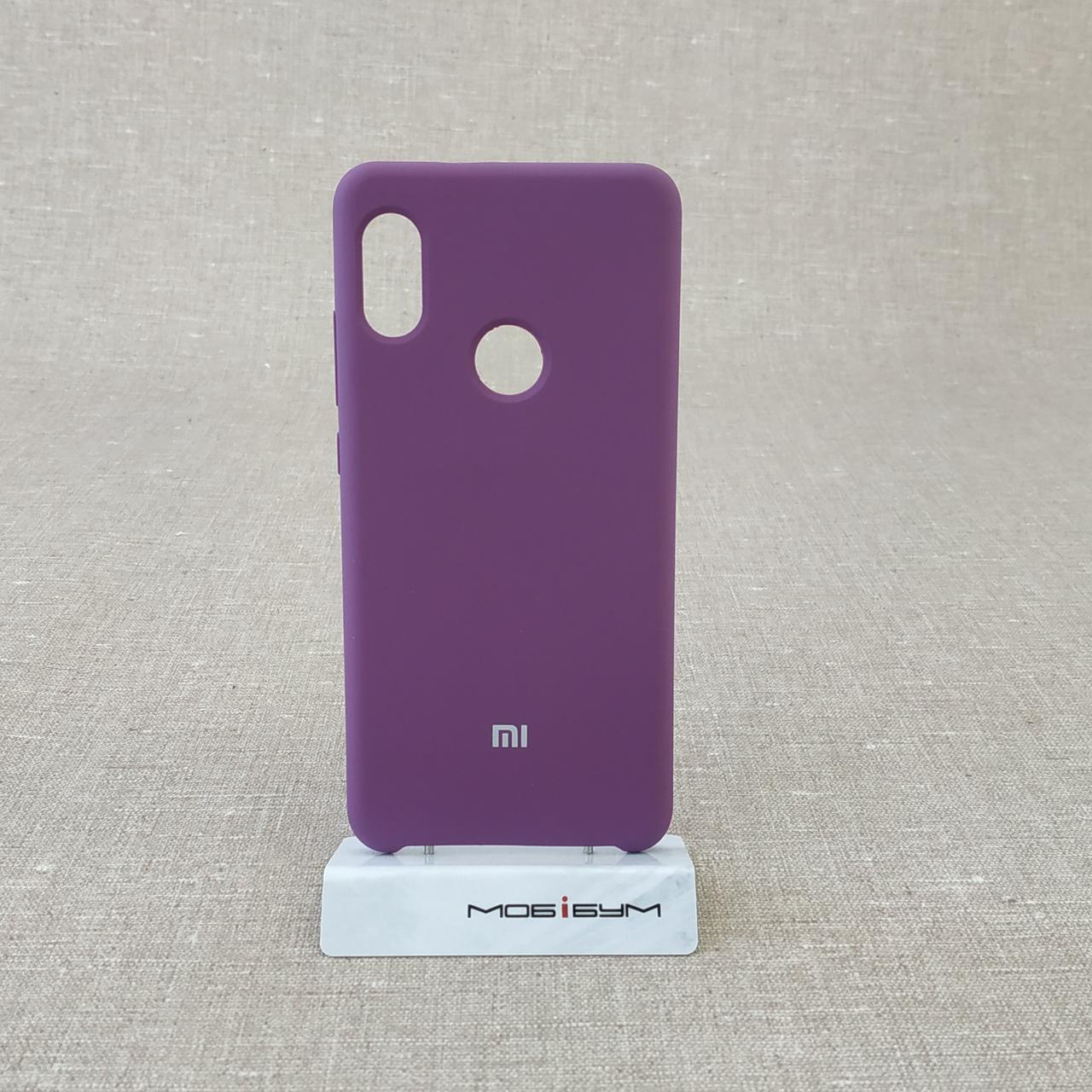 Чехол Original Soft Xiaomi Redmi Note 5/5 Pro violet