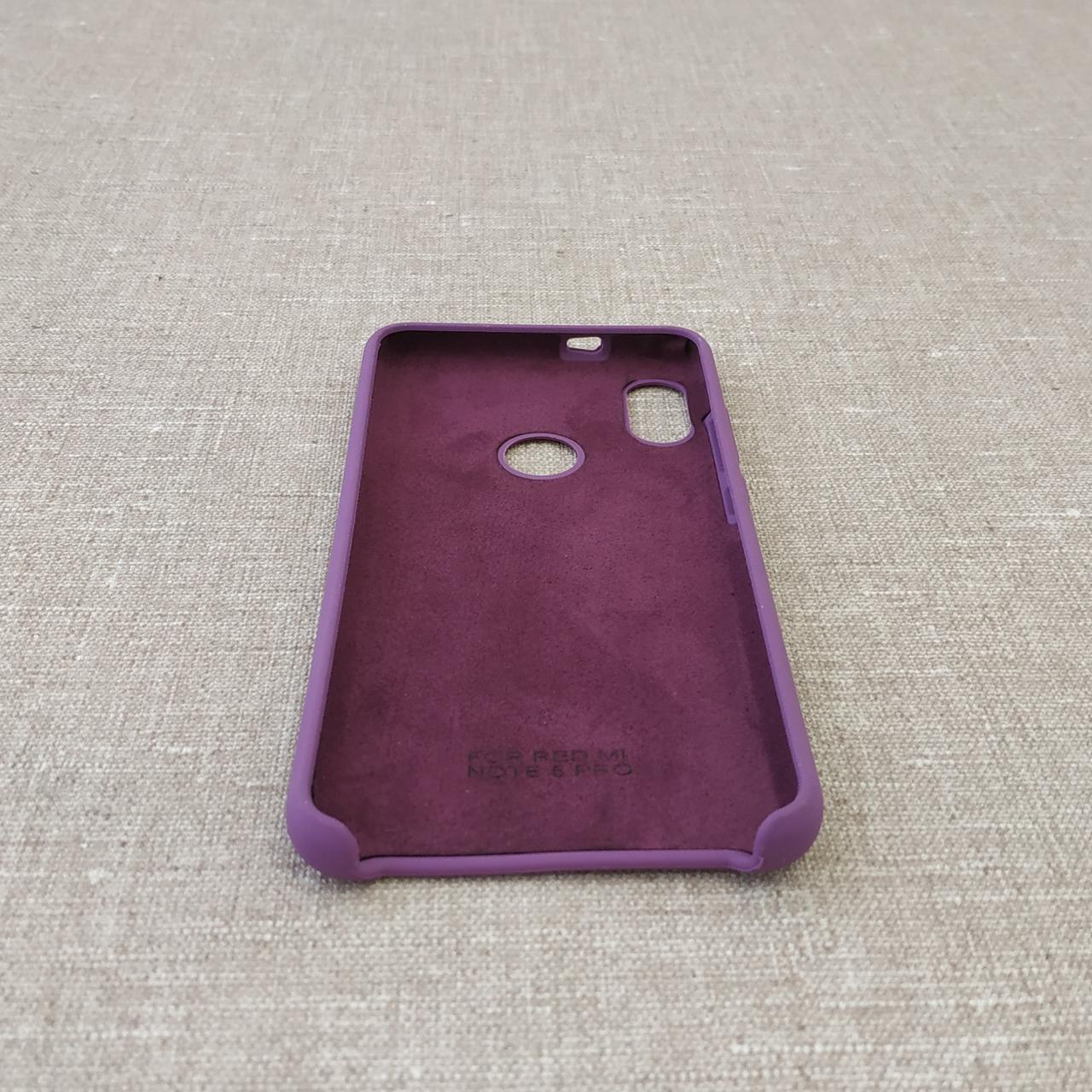Original Soft Xiaomi Redmi Note 5 Pro violet (DC) Для телефона