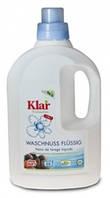 Klar. Органическое жидкое средство для стирки с экстрактом мыльного ореха, 3 в 1. 1,5л., фото 1